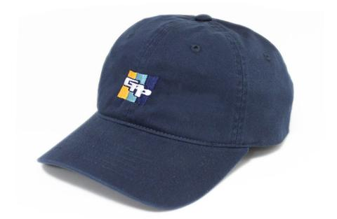 "GREDDY HAT: GPP EMBROIDERED 3 STRIP LOGO ""DAD'S CAP"""