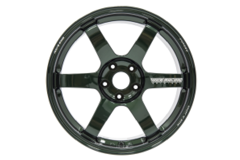 Volk TE37 SAGA 18x9.5 +38 5x114 Racing Green