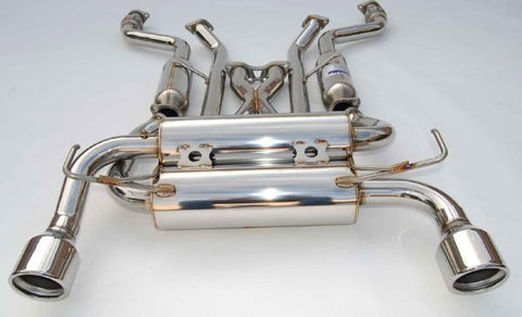 INVIDIA GEMINI EXHAUST: G37 COUPE 08-13 (ROLLED STAINLESS STEEL TIPS)
