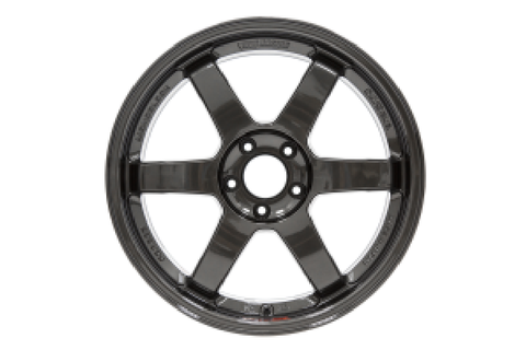 Volk TE37SL 18x9.5 +40 5x114 Diamond Black