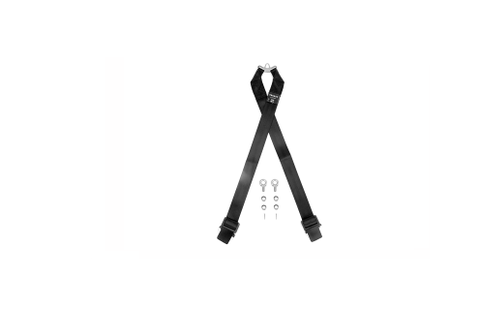 Takata RACE 6-Point Sub-Strap (T-Bar) Black - Universal