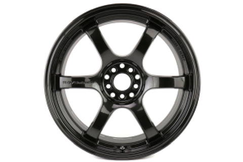 Gram Lights 57DR 18x9.5 +38 5x100 Glass Black