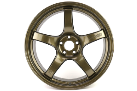 Gram Lights 57CR 18x9.5 +38 5x100 Almite Gold