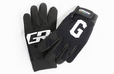 GREDDY GLOVES: GREDDY G MECHANIC BLACK (LARGE)