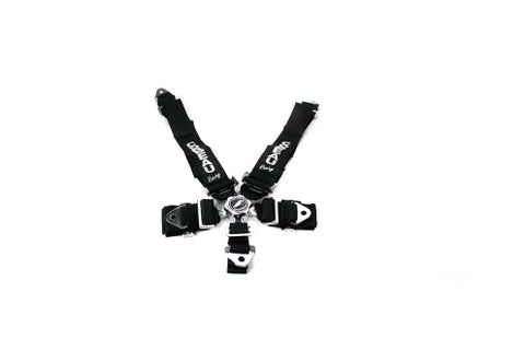 Corbeau 3 Inch 5-Point Camlock Harness Black - Universal
