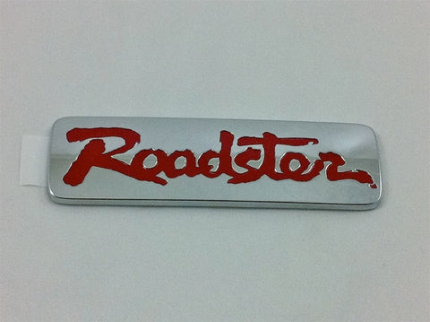 MAZDA JAPAN EMBLEM: ROADSTER FOR MIATA 89-98 (REAR/RED)