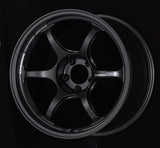 Advan RG-D2 18x10.5 +15 5-114.3 Semi Gloss Black Wheel