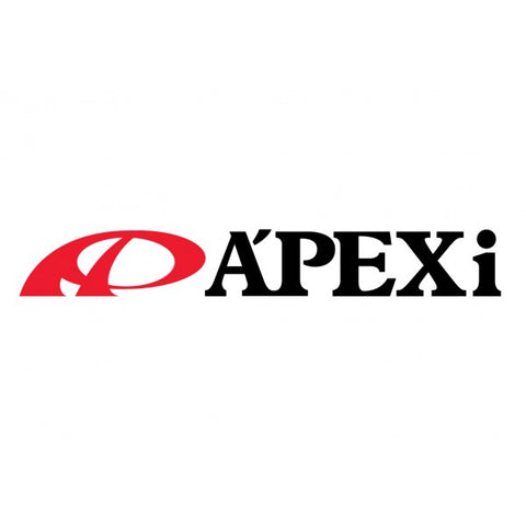 A'PEXi DECAL: 12-INCH (BLACK)