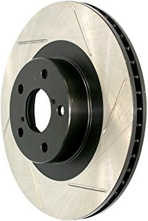 STOPTECH SLOTTED ROTOR: ALFA ROMEO 164 90-95 (RR)