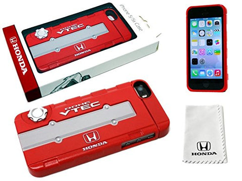 HONDA iPHONE5/5S CASE: B-SERIES VTEC VALVE COVER (RED)