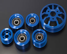 GREDDY BILLET PULLEY KIT: FR-S/BRZ 13-16 (6-PCS FULL KIT)
