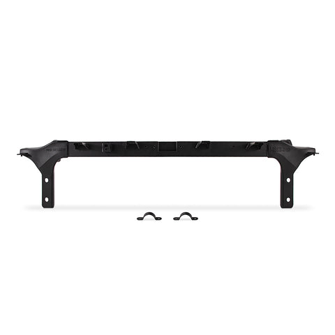 Mishimoto 2011-2016 Ford 6.4L Powerstroke Upper Support Bar - Micro-Wrinkle Black
