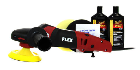 Flex PE 14-2 150 & Meguiar's Polish Kit