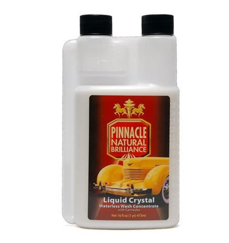 Pinnacle Liquid Crystal Waterless Wash with Carnauba - 16 oz Conc