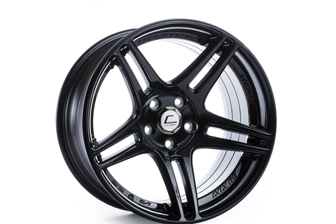 Cosmis Racing Wheels S5R 17x9 +22mm 5x114.3 Black - Universal