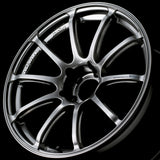 Advan RSII 17x8.0 +37 5-114.3 Racing Hyper Black Wheel