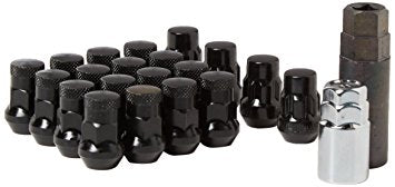 MUTEKI SR35 LUG NUT LOCK SET: 12 x 1.25 (CLOSED END/BLACK)