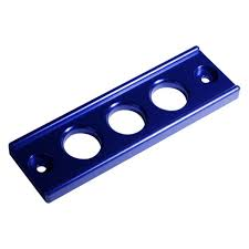 BLOX BATTERY TIE DOWN: INTEGRA 94-01/CIVIC 92-00 (BLUE)