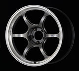 Advan RG-D2 18x9.5 +22 5-120 Machining & Racing Hyper Black Wheel