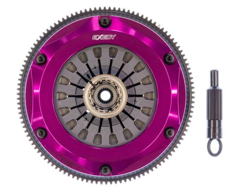 Exedy 1996-1996 Mitsubishi Lancer Evolution IV L4 Hyper Triple Cerametallic Clutch Rigid