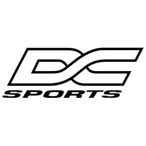 DC SPORTS DIE CUT DECAL: DC SPORTS YELLOW