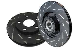 EBC USR SLOTTED ROTOR: FOR ACURA NSX 3.0L 91-96 (REAR)