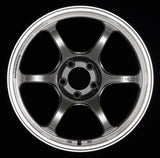Advan RG-D2 18x11.0 +15 5-114.3 Machining & Racing Hyper Black Wheel