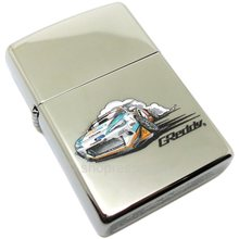 GREDDY ZIPPO LIGHTER: GREDDY DRIFT 21 (CHROME FINISH)