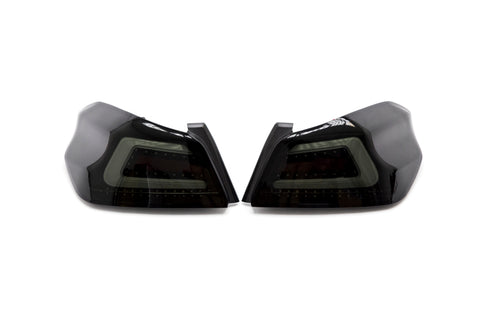 SubiSpeed USDM TR Style Sequential Tail Lights Dark Smoke - 2015+ WRX 2015+ STI