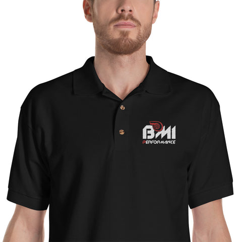BMI PERFORMANCE Embroidered Polo Shirt
