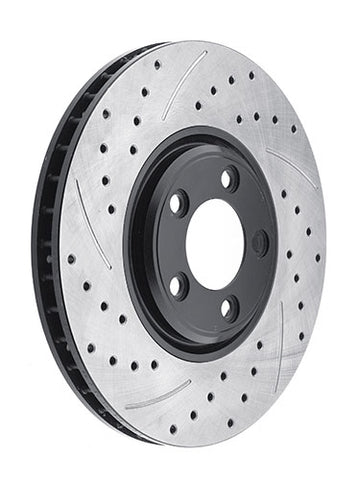STOPTECH DRILLED ROTOR: 2.3CL 98-99/ACCORD 4-CYL 98-02 (FL)