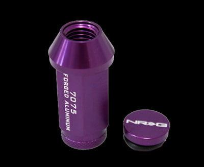 NRG - 700 SERIES LUG NUT LOCK: M12x1.25 (4PC. PURPLE)