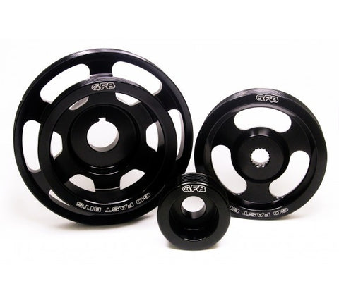 GFB UNDERDRIVE PULLEY KIT(3-PCS): WRX & STI 08-14, FORESTER XT 08-14