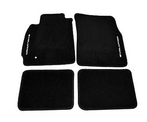 NRG FLOOR MATS: MITSUBISHI LANCER EVO 03-06 (WITH EVOLUTION LOGO)