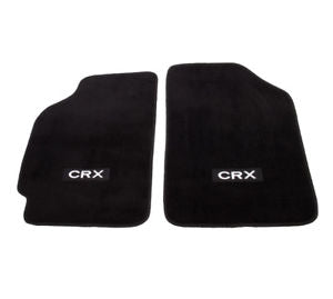 NRG FLOOR MATS: FOR HONDA CRX 88-91 (WITH CRX LOGO)