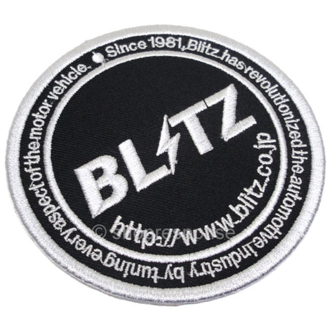 BLITZ CIRCLE LOGO PATCH
