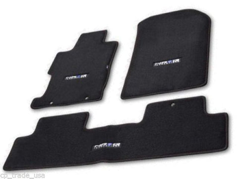 NRG FLOOR MATS: FOR HONDA CIVIC SI SEDAN 07-11 (WITH NRG LOGO)