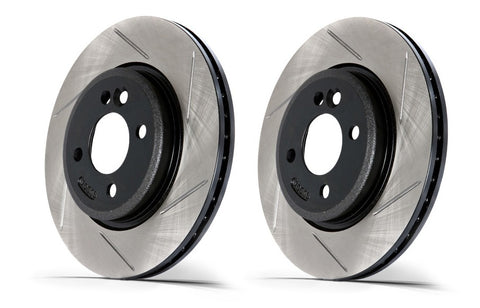 STOPTECH SLOTTED ROTOR: ALFA ROMEO 164 90-93 (FR)