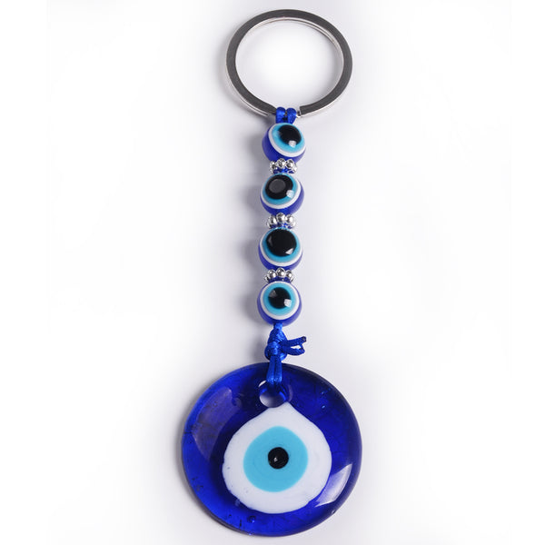 Evil Eye Key Chain w/ Beads