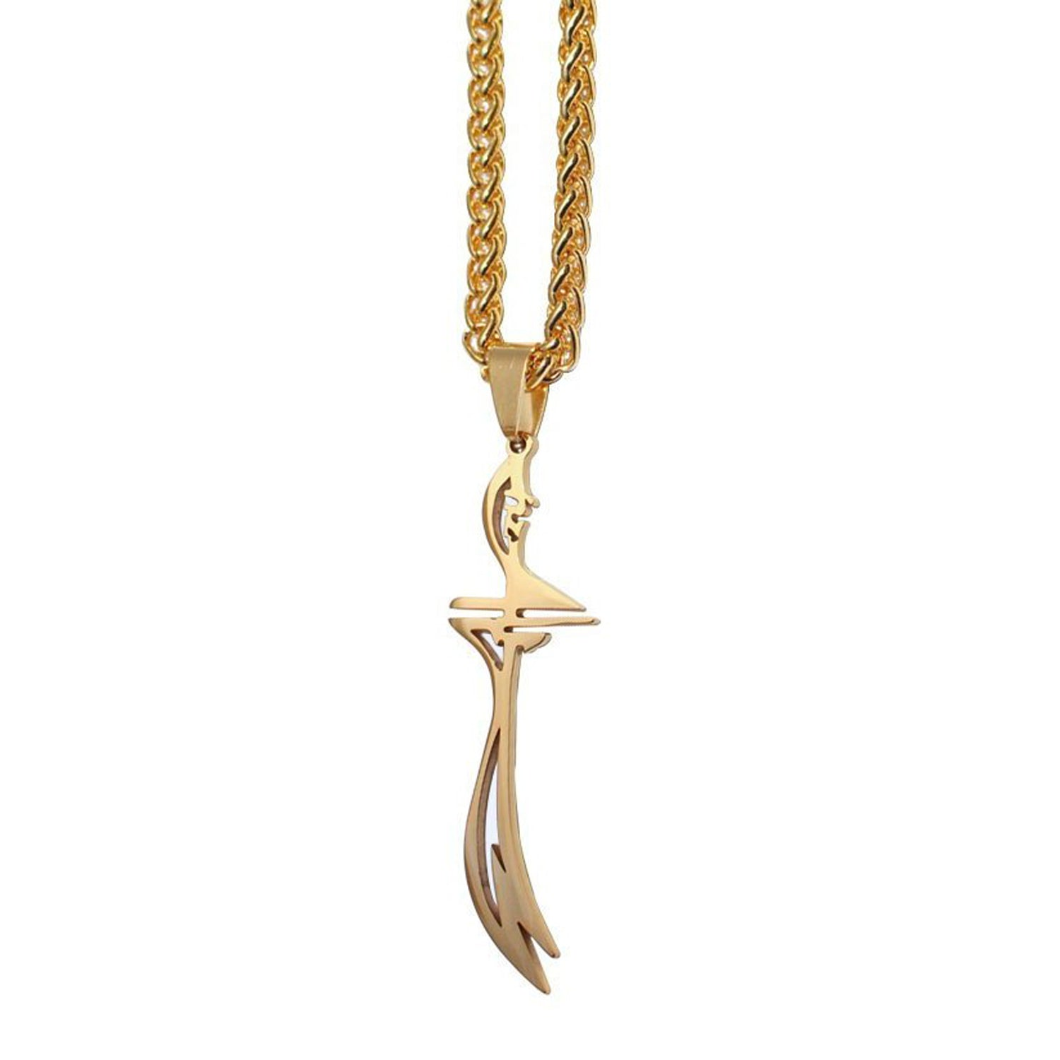 Zulfiqar Necklace Gold/Silver