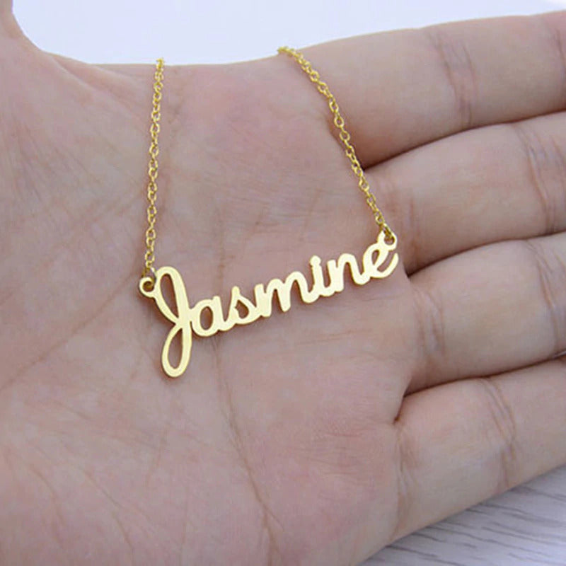 Custom English Name Necklace