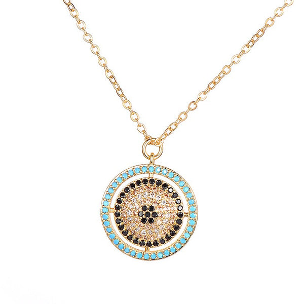 Eye Necklace Gold/Silver