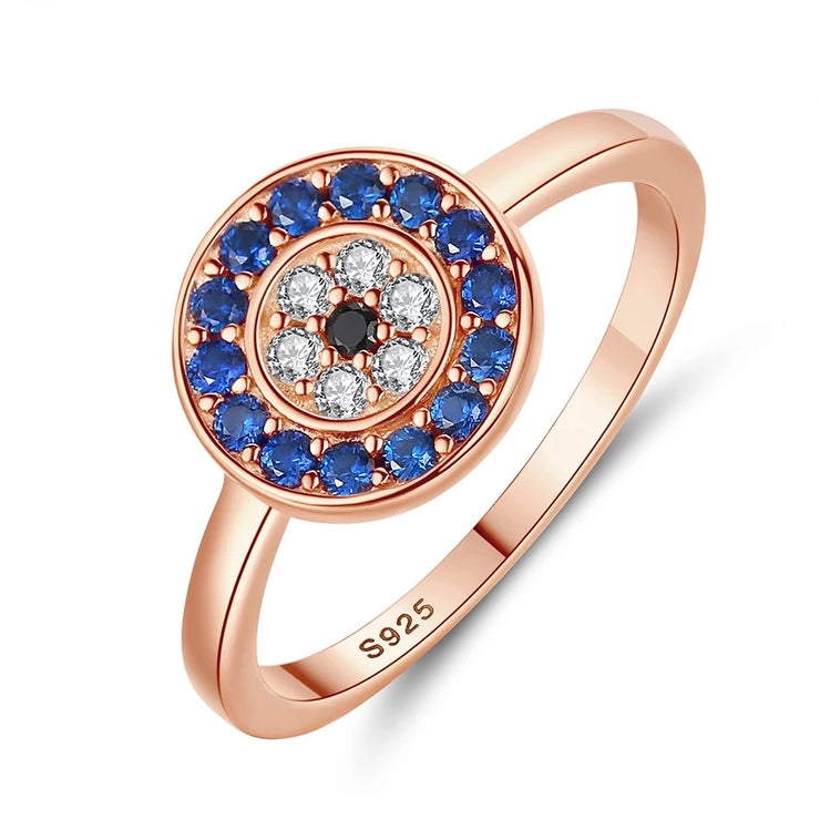 Round Rose Gold Ring