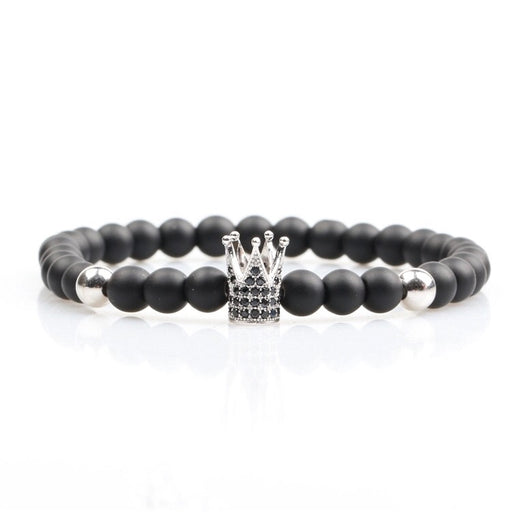 Silver Queen's Crown Bracelet