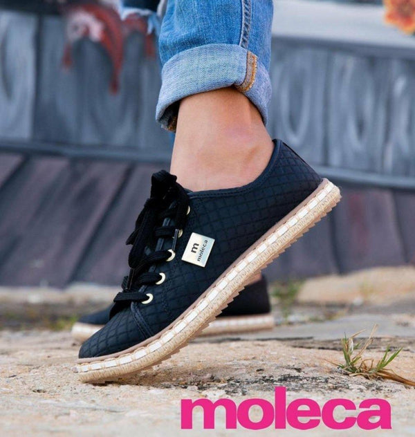 TI5674-101-20048 Black Moleca Women Shoes - Pompis Stores
