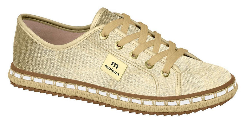TI5674-101-19669 Gold Moleca Women Shoes