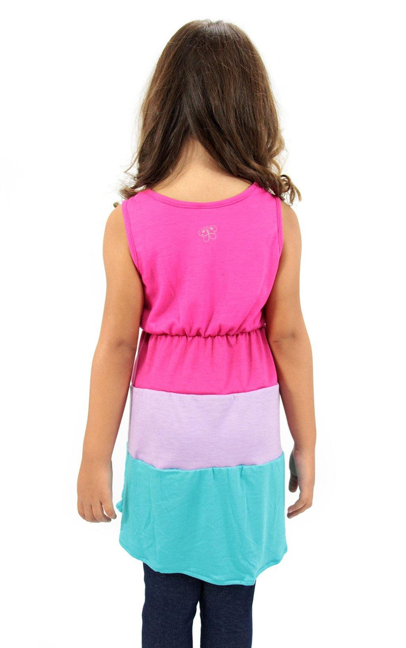 3662 Dress Girls Cami by Barbara Bermudo