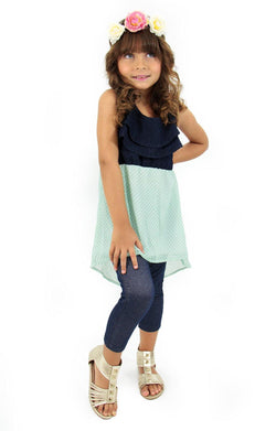 CB3664  Girls Cami by Barbara Bermudo
