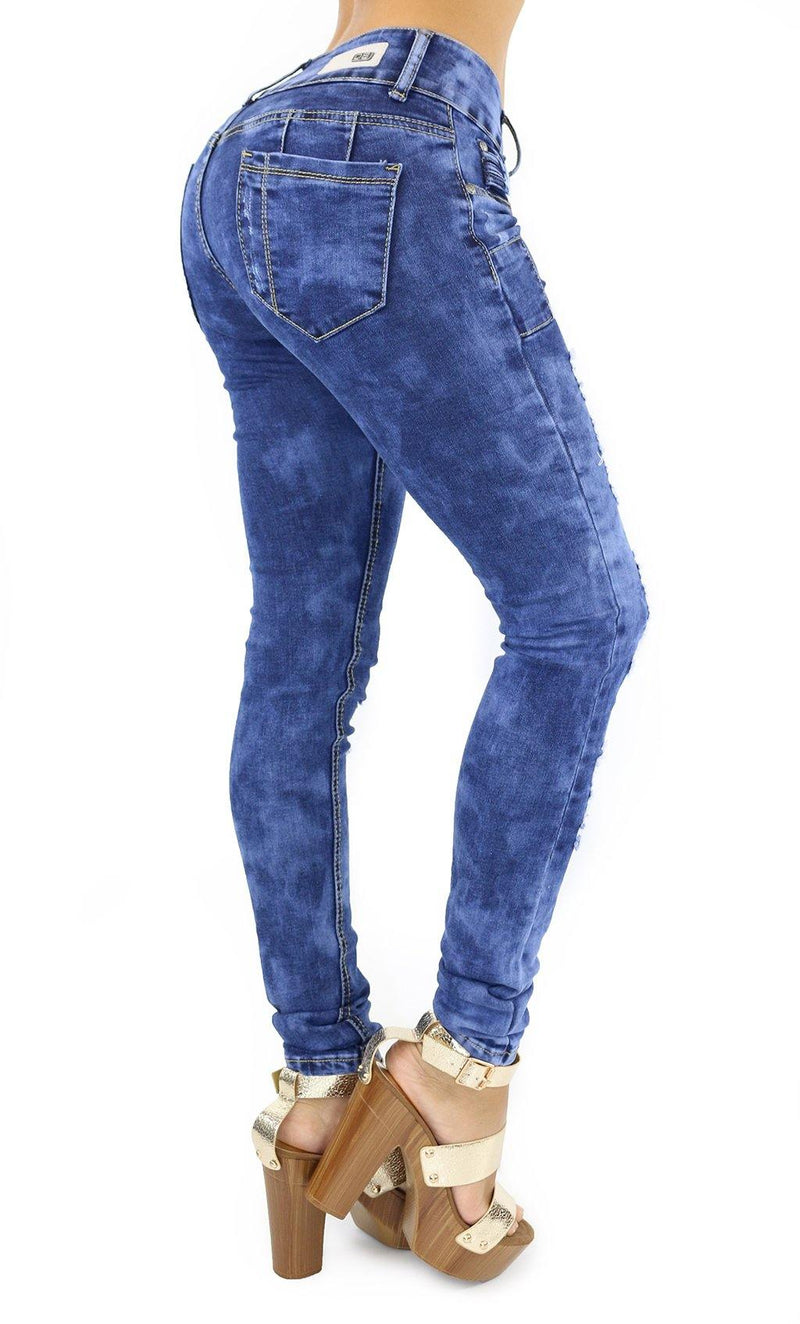 1036 Dear Body Women's Destroyed Skinny Jean