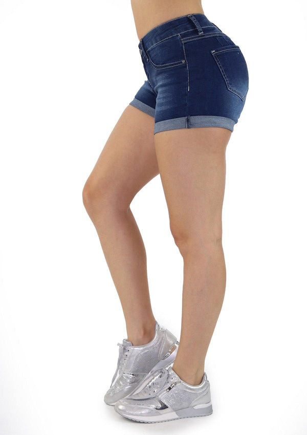 1174 Dear Body Denim Short